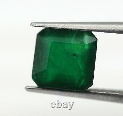 1.91 Ct Natural Emerald Loose Dark Green Color No Heat TOP Quality Gemstone AA+