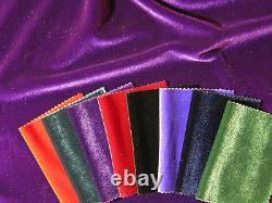 10 Metre Roll Superior Quality Spandex Velvet Fabric (4 Way Stretch)