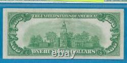 $100.1928-a Chicago Dark Green Seal Federal Reserve Note Choice New