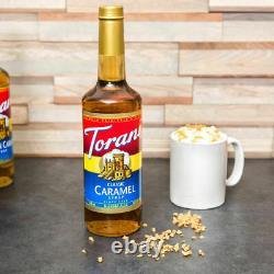 12 PACK YOUR CHOICE Torani Syrup 750 mL Soda Coffee Vanilla Caramel Hazelnut