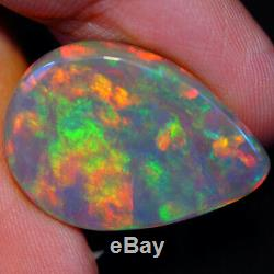 16.38 CT Rare Quality Natural Dark Welo Ethiopian Opal-EAA116