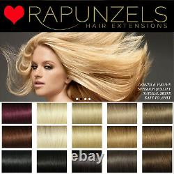 18 Remy Quality Rapunzels hair wefts LA weave wefts Weaving Wig Making Glue in