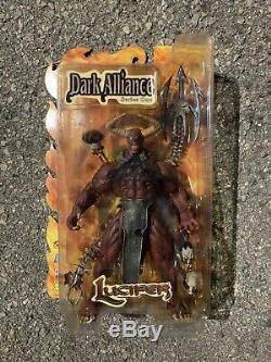 2001 Diamond Select Art Asylum Dark Alliance Series 1 Lucifer NIP
