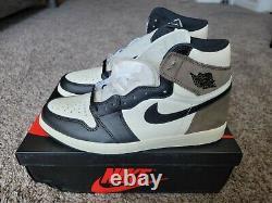 2020 Air Jordan 1 Retro High OG Dark Mocha 555088 105 Size 12