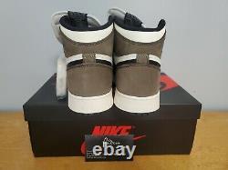 2020 Air Jordan 1 Retro High OG Dark Mocha 555088 GS Size 4.5y. Brand New