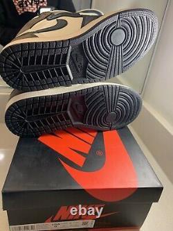 2020 Nike Air Jordan 1 Retro High Dark Mocha 555088-105 MEN SZ 8.5