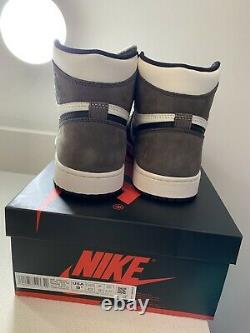 2020 Nike Air Jordan 1 Retro High Dark Mocha 555088-105 MEN Size 9.5