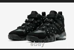 2020 Nike Air Max 2 CB'94 Barkley Dark Charcoal Triple Black DC1411-001 Sz8-13