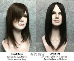 5.5x6 SILK TOP 100% high quality human hair topper hairpiece-New Base Design