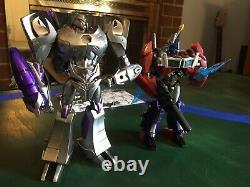 APC Toys APC-01 Attack Prime Chrome Ver 2.0 And Dark Master APC-02 NEW In boxes