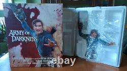 ASH ARMY OF DARKNESS Diamond Select Evil Dead Bust Statue Bruce Campbell figure