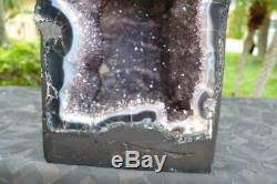 Amethyst Geode Cathedral Crystals with Great Energy Super Quality Very Dark Pts