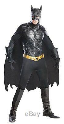 Batman Dark Knight Grand Heritage Adult Mens Costume, QUALITY, Rubies