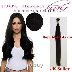 Best Quality 20 1g 7A Nano Ring Double Drawn Remy Human Hair Extensions UK 1st