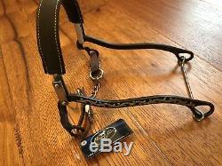 Bob Avila Hackamore Professional's Choice AVB-132 Horse Riding Bit Prof Pro Dark