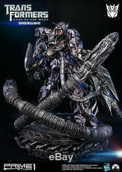 Brand New Prime 1 Studios Limited Shockwave Transformers Dark of the Moon /888