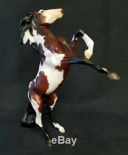 Breyer SR 2020 Gambler's Choice Web Special Dark Bay Pinto eRaring Mustang NIB