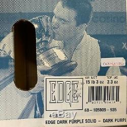 Brunswick EDGE DARK PURPLE SOLID BOWLING ball 1ST QUALITY 15 lb. NEW IN BOX