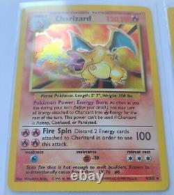 Charizard 1999 Holo PSA Quality 9 or better