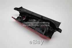 Citroen Berlingo 13-17 Rear Light Lamp Right Driver Off Side Dark Red 2 Door