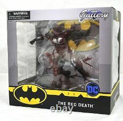DIAMOND SELECT TOYS DC Gallery Dark Nights Metal Red Death PVC Figure DMG PKG