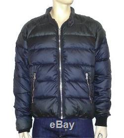 Diesel High Quality Men's Daunen- Winter Jacket W-Neel Dark Blue Size XXL