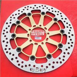 Ducati 848 Evo Dark Stealth 11 12 13 Ng Front Brake Disc Oe Quality Upgrade 1051