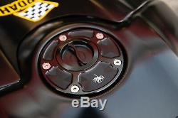 Ducati Monster 696 796 1100 EVO Tankverschluß Tankdeckel tank fuel cap tapo