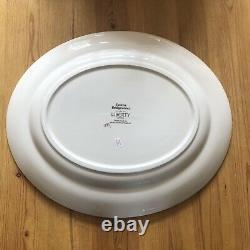 Emma Bridgewater Liberty Dark Dahlia Medium Oval Platter. Brand New. 1st Quality