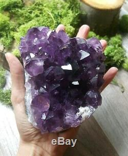 Extra Large Dark Amethyst crystal URUGUAY Amethyst Geode. High Quality (L26)