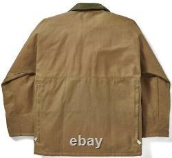 Filson Tin Cloth Field Jacket Dark Tan 2nd Quality, Men's L NWT MSRP $475