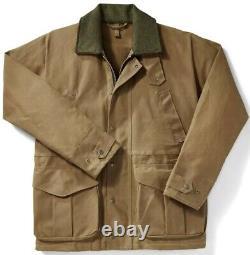 Filson Tin Cloth Field Jacket Dark Tan 2nd Quality, Men's M NWT MSRP $475