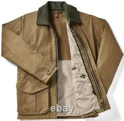 Filson Tin Cloth Field Jacket Dark Tan 2nd Quality, Men's XL NWT MSRP $475