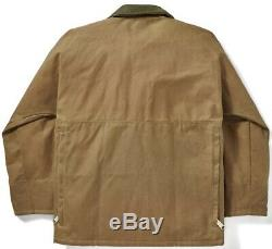 Filson Tin Cloth Field Jacket Dark Tan Second Quality, Men's S NWT MSRP $450