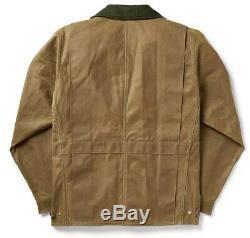 Filson Tin Cloth Jacket Dark Tan 2nd Quality, Men's XL NWT MSRP $350