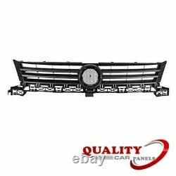 Front Grille Dark Grey With Grey Moulding Vw Caddy 2011-2015 New High Quality
