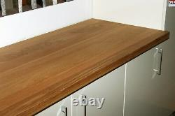 Full Stave Prime Oak Wood Worktop, Free Delivery, Timber, Real Wood Worktops