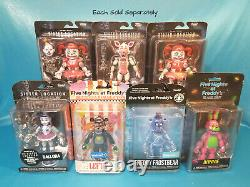 Funko FNAF Five Nights at Freddy's Sister Location 5 Inch Figure Your Choice