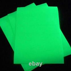 Glow in the Dark Photo Luminescent Sign Making Vinyl High Quality Long Glowing