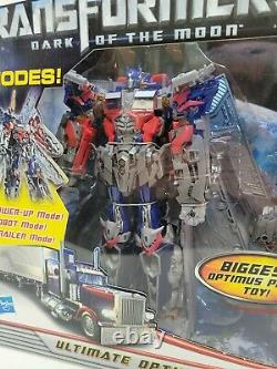 Hasbro Transformers Dark of the Moon Mechtech Ultimate Optimus Prime NIB