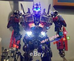 Hot P1S Transformers Dark of the Moon Optimus Prime EX Recast Statue In Stock