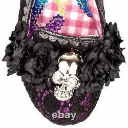 Irregular Choice x Halloween Dark Daydream Black Womens Court Shoes