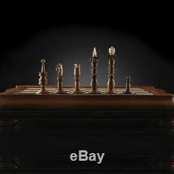 Kadun HandMade Chess Calvert Dark Board high quality Board Game VIP Gift