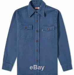 Levi's Vintage Clothing Shirt Jacket Dark Blue 70's Style Levis LVC Levi Strauss