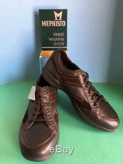 Mephisto Men's Vadim Walking Shoe, Dark Brown, Select Size, First Quality