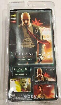 NECA Hitman Player Select Series 1 Agent 47 Action Figure Dark Suit