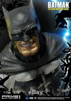 NEW Batman The Dark Knight Returns 1/3 Batman Premium Bust Prime 1 Studio EMS