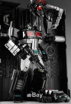 NEW Transformers MP-10B Dark Optimus Prime With compartment