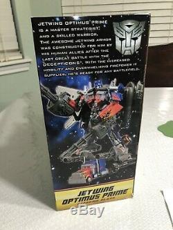 NIB Transformers Movie DOTM JETWING OPTIMUS PRIME Supreme Class Dark of the Moon