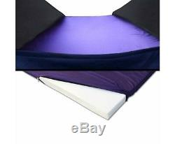 New Double Size Dome Canvas Tent Dark Blue Waterproof Camping High Quality